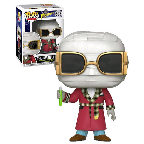 The Invisible Man Monsters Funko Pop! Vinyl Movies