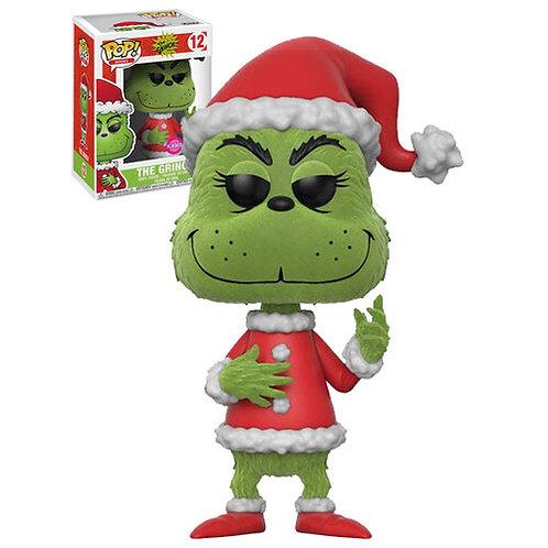 The Grinch as Santa Flocked Funko Pop! Vinyl Dr Seuss Books