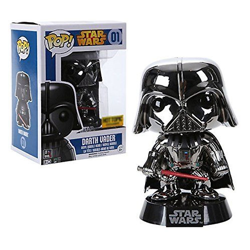 Darth Vader Metallic Chrome Funko Pop! Vinyl Star Wars