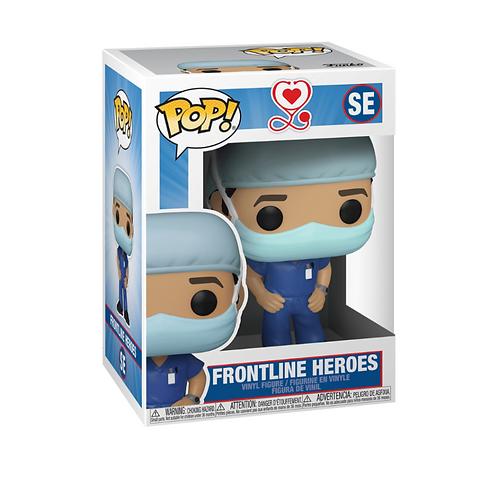Front line heroes, male nurse / doctor, Funko Pop! Vinyl, Special Edition
