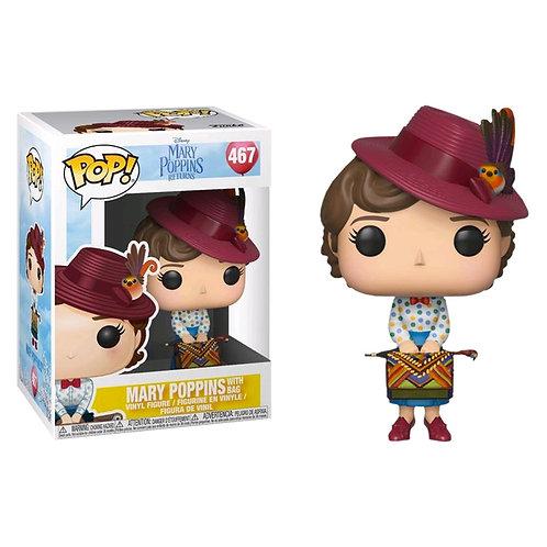Mary Poppins With Bags Funko Pop! Vinyl Mary Poppins Returns Disney