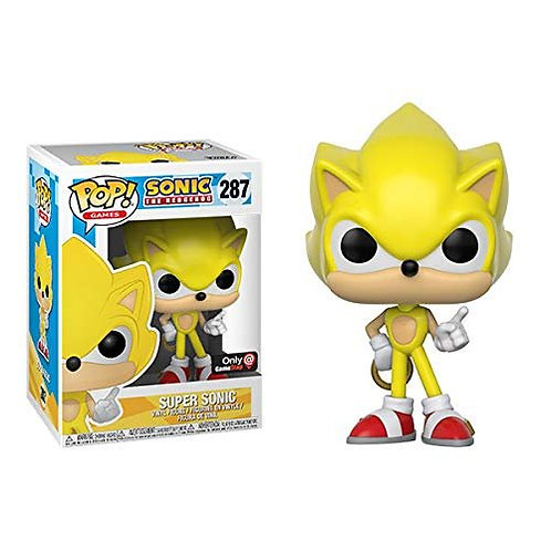 Sonic The Hedgehog Super Sonic Funko Pop! Vinyl Games