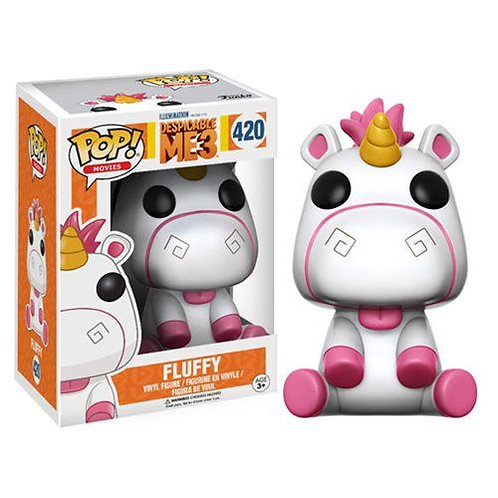 Fluffy Flocked Despicable Me 3 Funko Pop! Vinyl Movies
