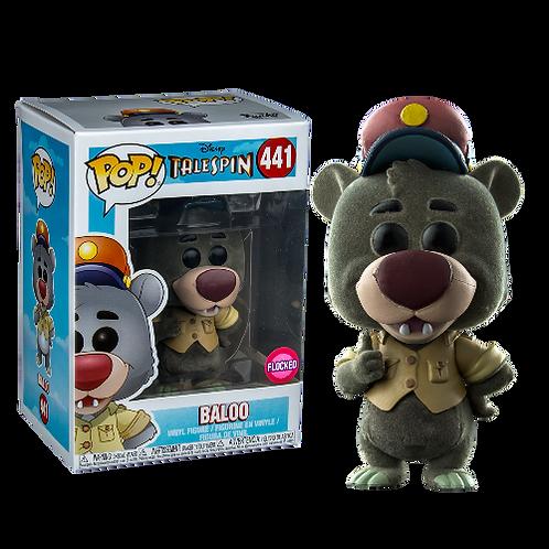 Baloo Flocked Talespin Funko Pop! Vinyl Disney