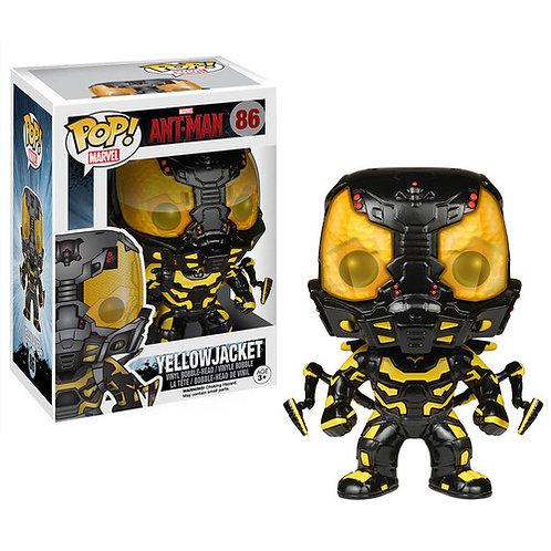 Yellow Jacket Glow in the Dark Ant-Man Funko Pop! Vinyl Marvel
