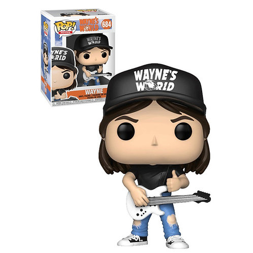 Wayne Wayne's World Funko Pop! Vinyl Movies