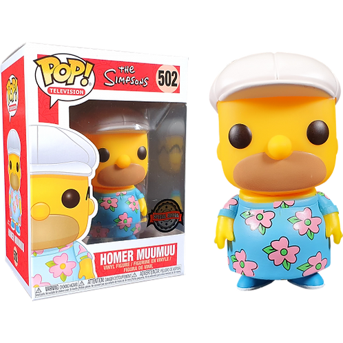 Homer Muumuu (The Simpsons) - Funko Pop Vinyl