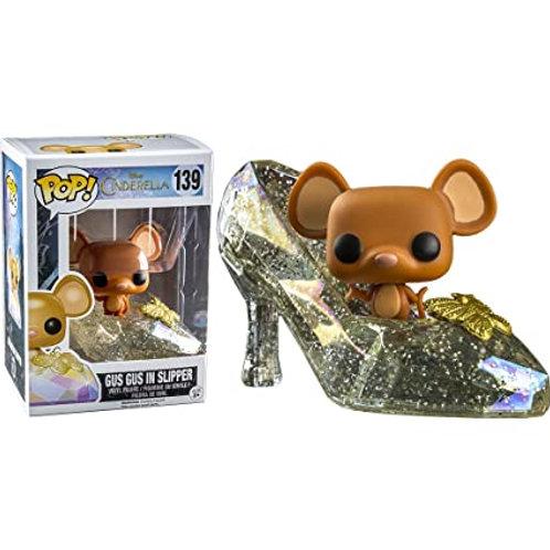 Gus Gus in Slipper Glitter Funko Pop! Vinyl Cinderella Disney