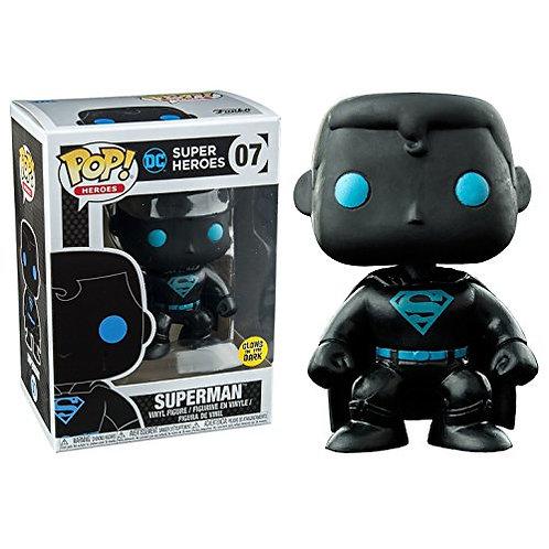 Superman Glow in the Dark Silhouette DC Funko Pop! Vinyl Heroes