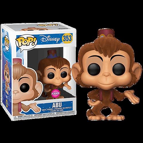 Abu Flocked Funko Pop! Vinyl Aladdin Disney