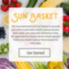 Sun Basket, Epicured, LEAP, Flavis Plan