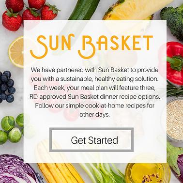 Sun Basket, Epicured, LEAP, Flavis Plan