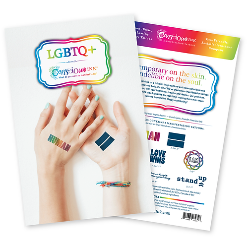 LGBTQ+ MANIFESTATION INTENTION PACK