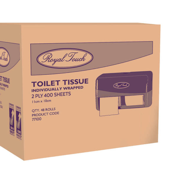 Royal Touch 400sheet Toilet Paper (witho