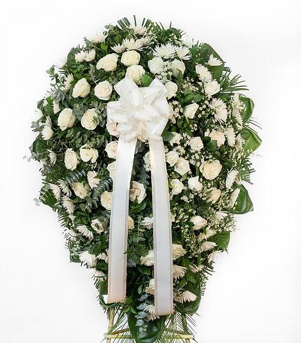 Fúnebre Clásico Blanco