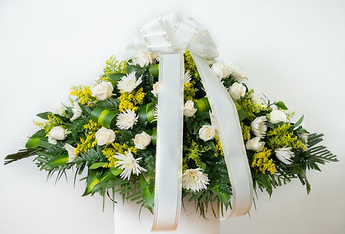 Cubrecaja de Rosas y Crisantemos