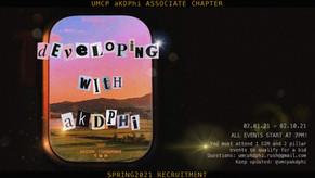 Spring 21: Developing with aKDPhi