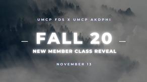 Fall '20 Reveal - KhiaZm!c Alpha Kappa