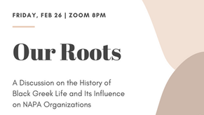 """""""Our Roots"""" Black History Month Panel"""