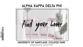 Fall 19: Find Your Home