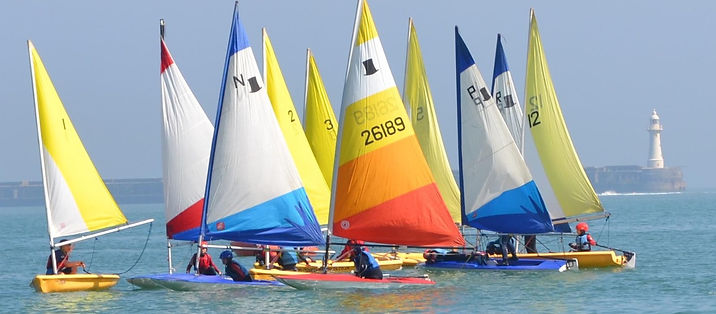 Dinghy sailing at Dover Sea Sports