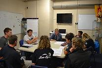 Sea Sports Dover training room