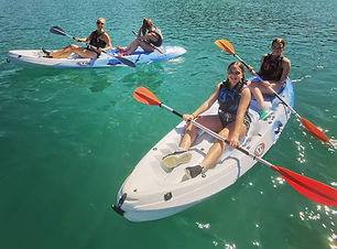 Kayak rental at St Andrews Watersports