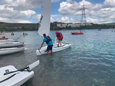 RYA Sailing Courses, St Andrews Watersports, St Andrews Lakes, Halling, Kent