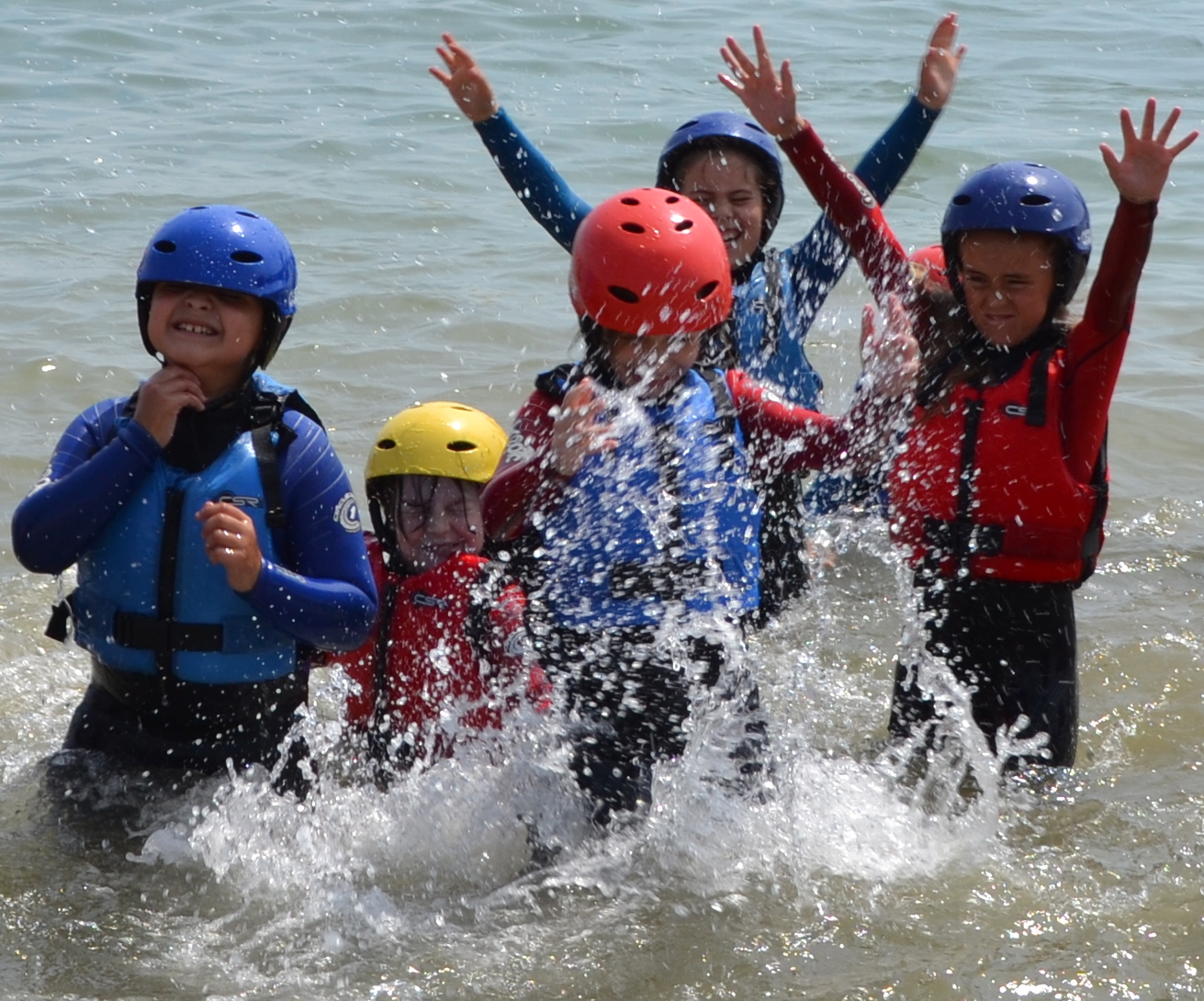 group water sport activities