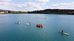 SUP at St Andrews Lake