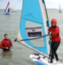 windsurfing at sea sports Dover