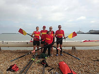 Get your team together to row across the English Channel