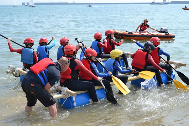 Group and school watersport activities
