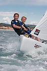 Topper sailing dinghy rental and RYA training