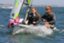 Dover Sea Sports level 2 dinghy sailing