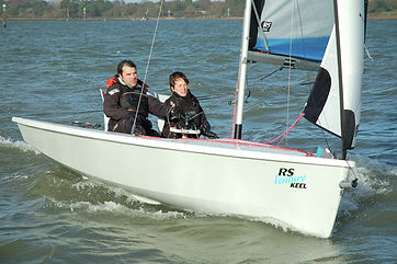 Disabled sailing with Dover Sea Sports