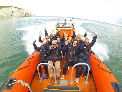 Dover Sea Safari, the ultimate boat trip from Dover Kent