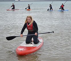 Port of Dover paddle boarding