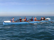 Team charity row across the English Channel