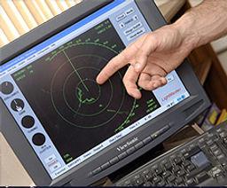 Shorebased RYA Radar simulator