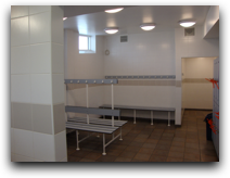 Sea Sports Dover Changing rooms