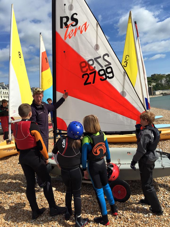 RYA youth sailing