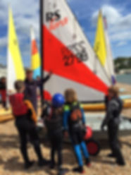 Learn to sail. RYA Watersports, Dover. Kent