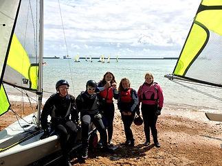 kids sailing club Dover Kent