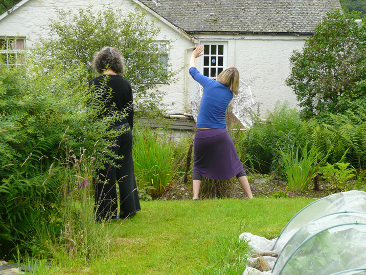 Dancing the Unknown, Scotland 2009