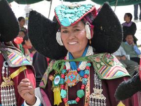 Ladakhi costume