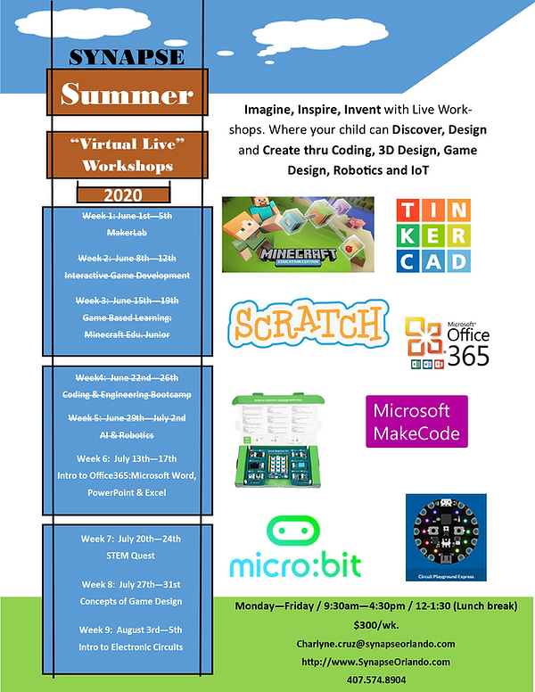Synapse Summer Virtual Camp 2020 flyer.p