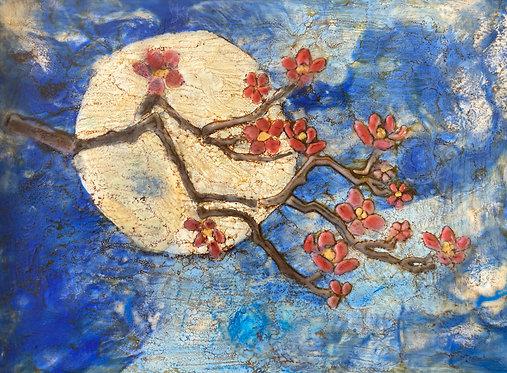 Moon Lite Cherry Blossoms