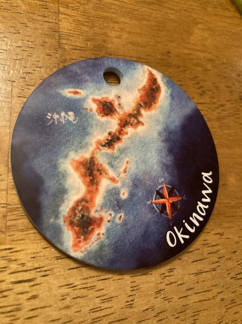 Okinawa with Compass Rose