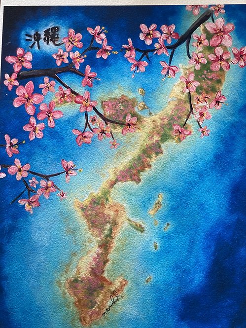 Okinawa with Cherry Blossoms